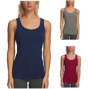 NEW Felina Ladies' 3-pack Layering Tank Tops